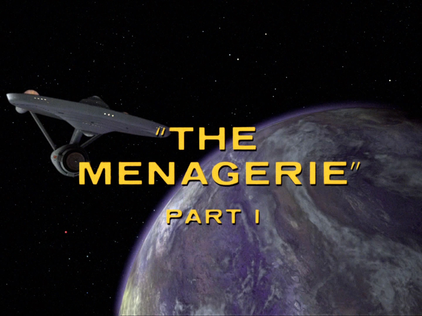 The Menagerie, Parts 1 & 2