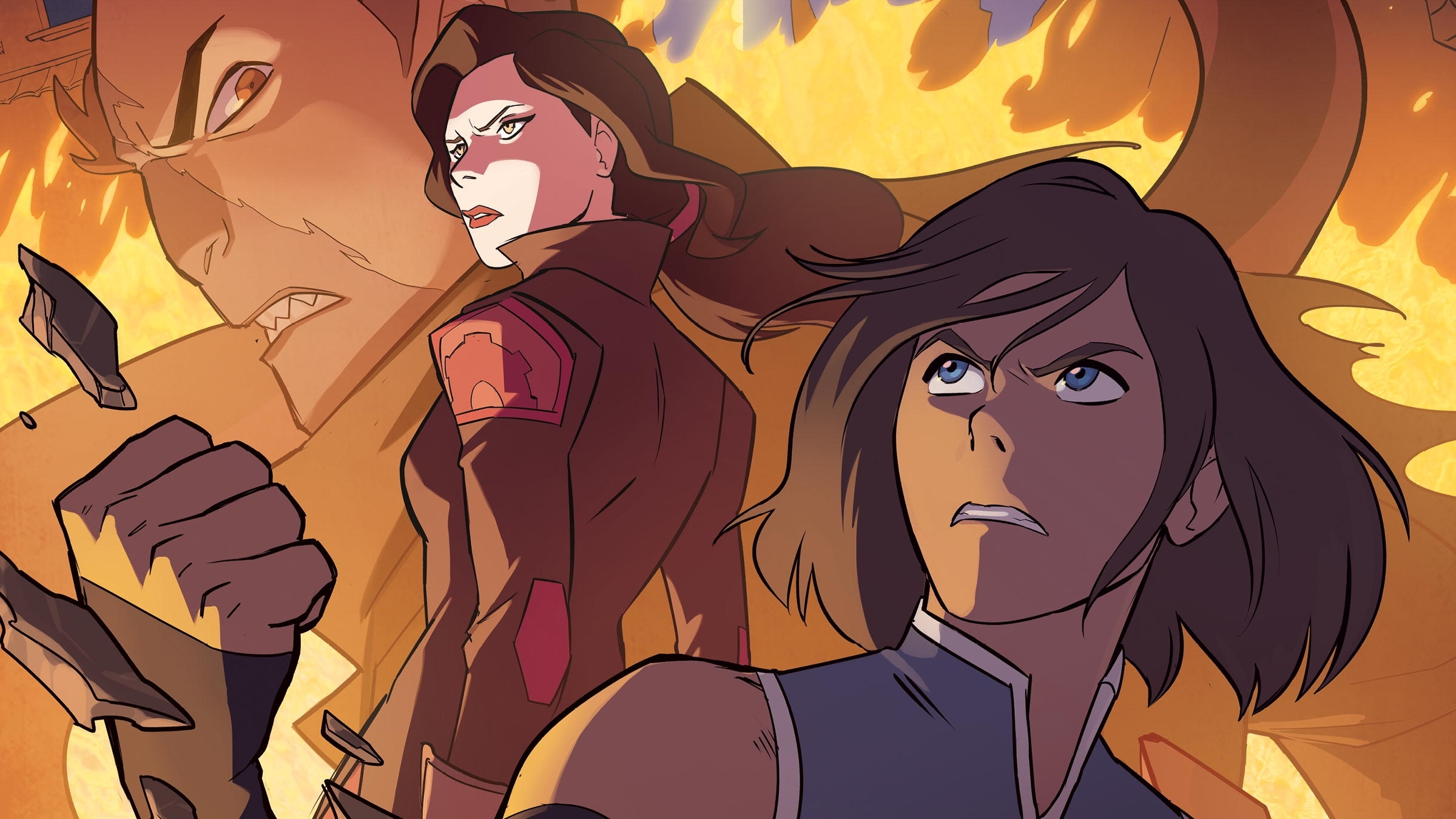 The Legend of Korra - Turf Wars - Part One - Review